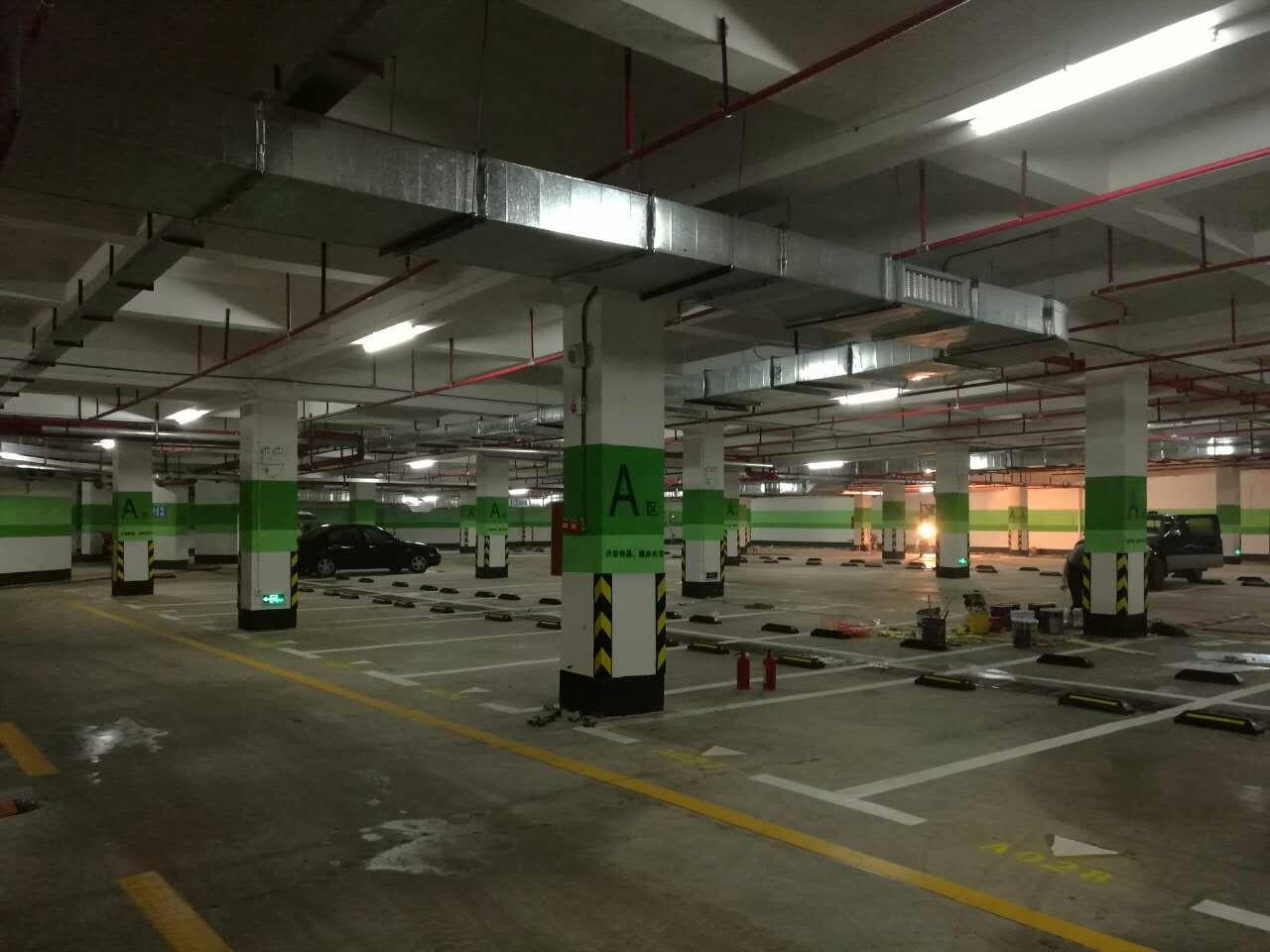武汉停车场车位划线施工方案