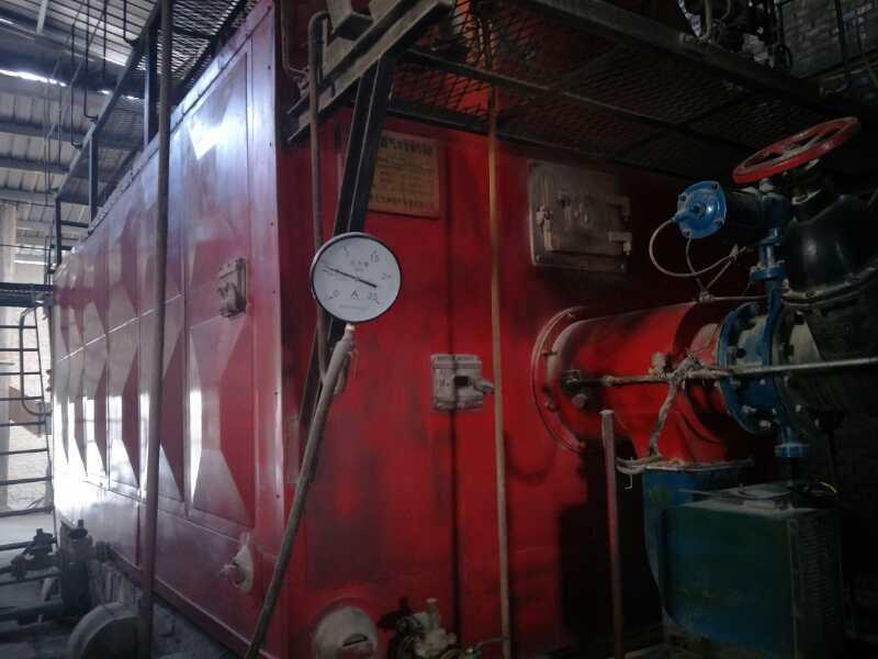 燃气锅炉的结构