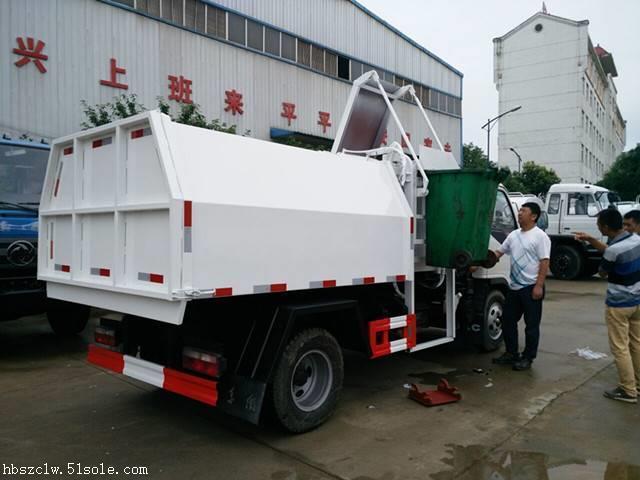挂桶垃圾车哪个牌子好用 大量现车供应
