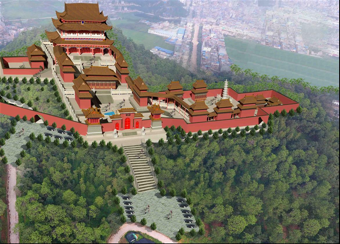 沈阳浑南区寺院设计理念是什么 寺庙规划设计