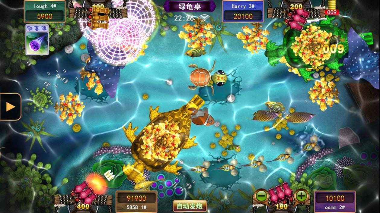 正版星力捕鱼平台 年度火爆游戏平台