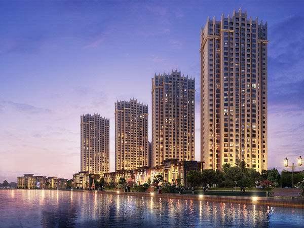 八达岭孔雀城实景图