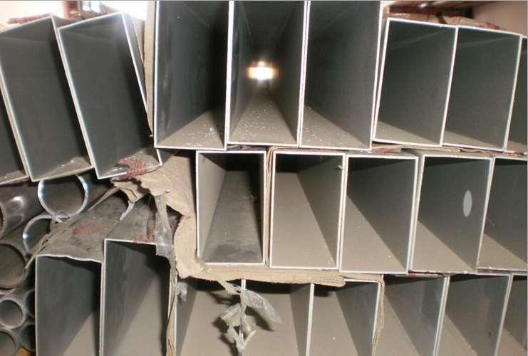 供应铝方管批发价格 安装维护简单