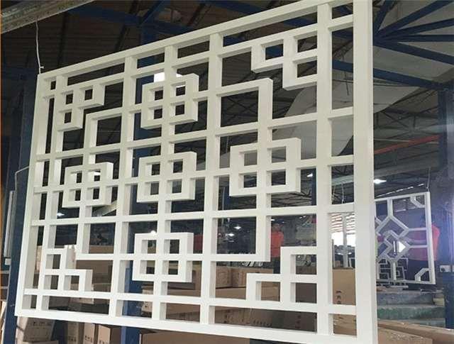 木纹铝窗花供应商