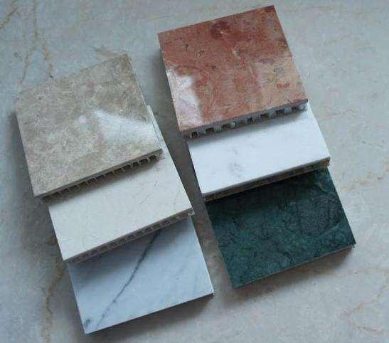 超薄石材铝蜂窝板厂家 比强度高铝蜂窝板