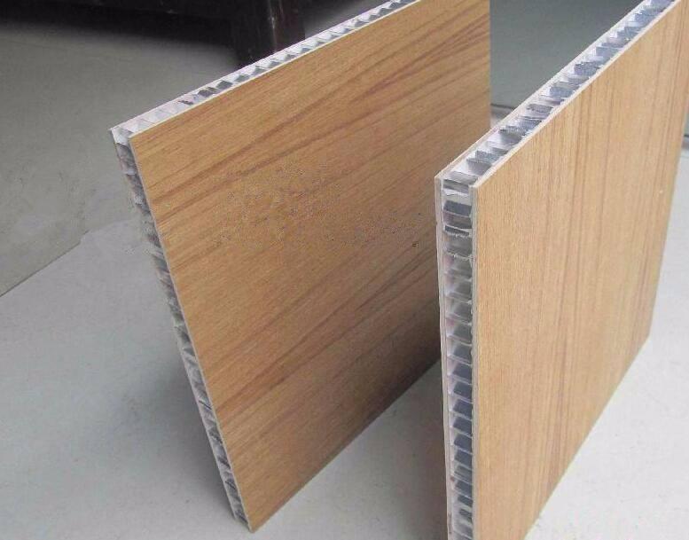 超薄石材铝蜂窝板批发价 卓越设计自由度的铝蜂窝板
