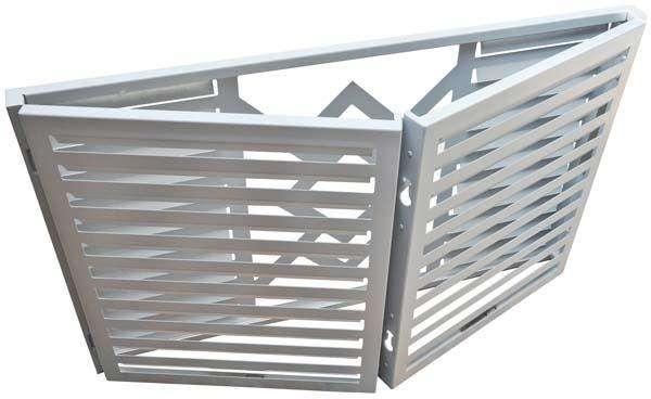 挂式铝空调罩定制 采购量大优惠多