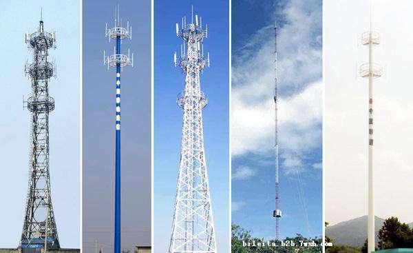 专业通信塔生产商 不易倒塌