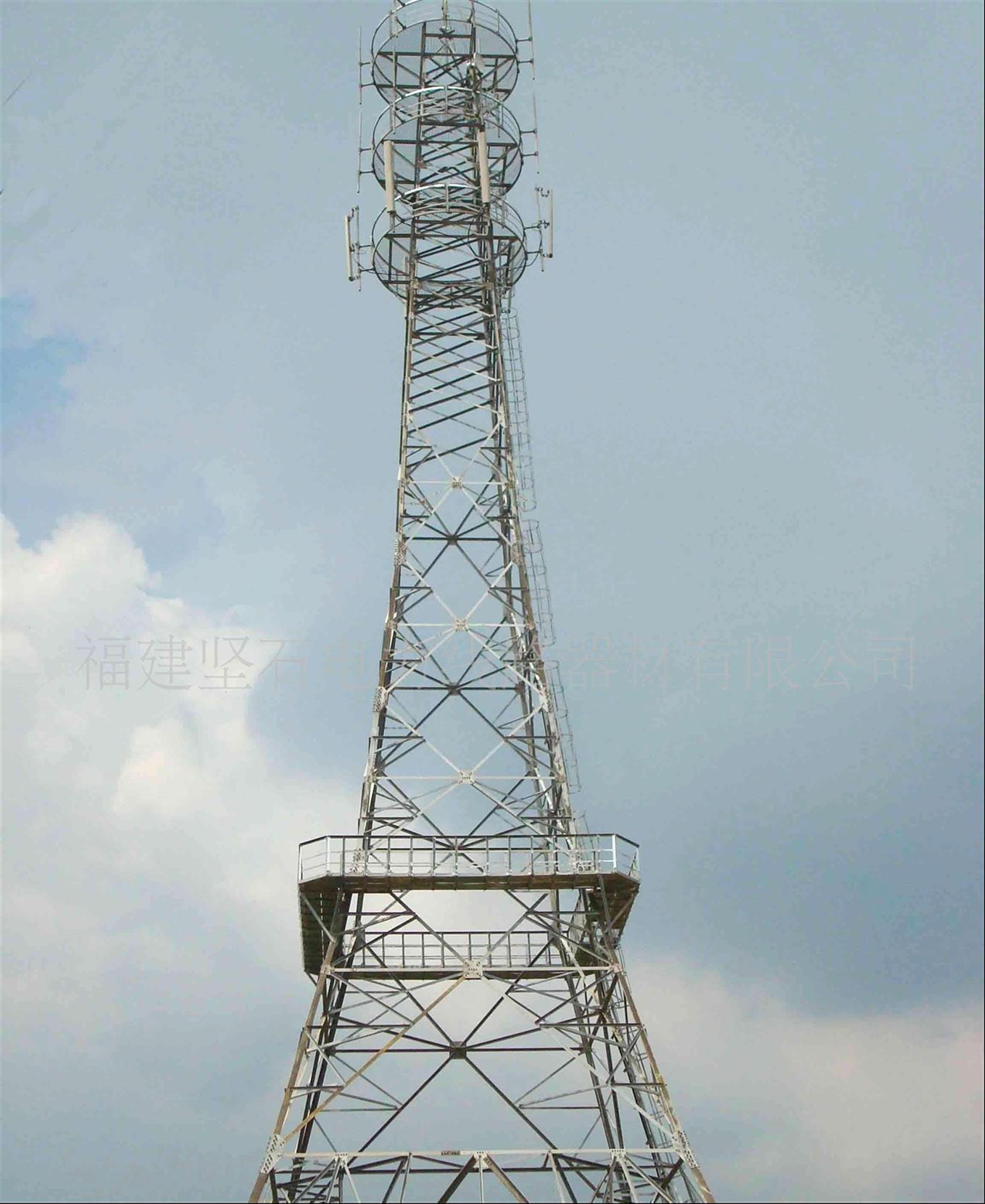 专业通信塔铁塔厂家 安全性稳定