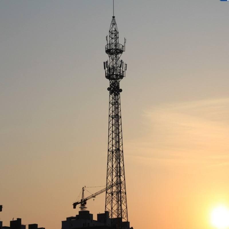 河北专业通信塔铁塔厂家 不易倒塌