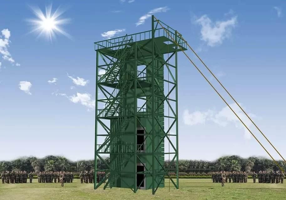 消防训练塔铁塔厂家 节约土地资源