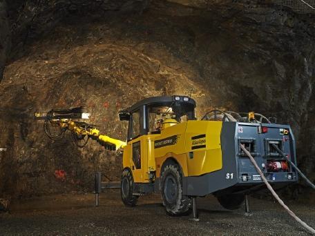 井下铲运机污染低 噪音低