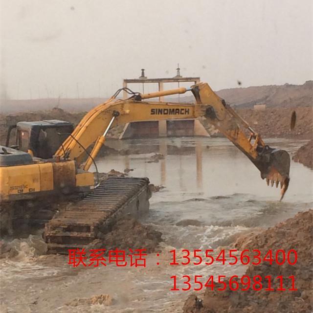 沧州水陆两用挖掘机出租厂家