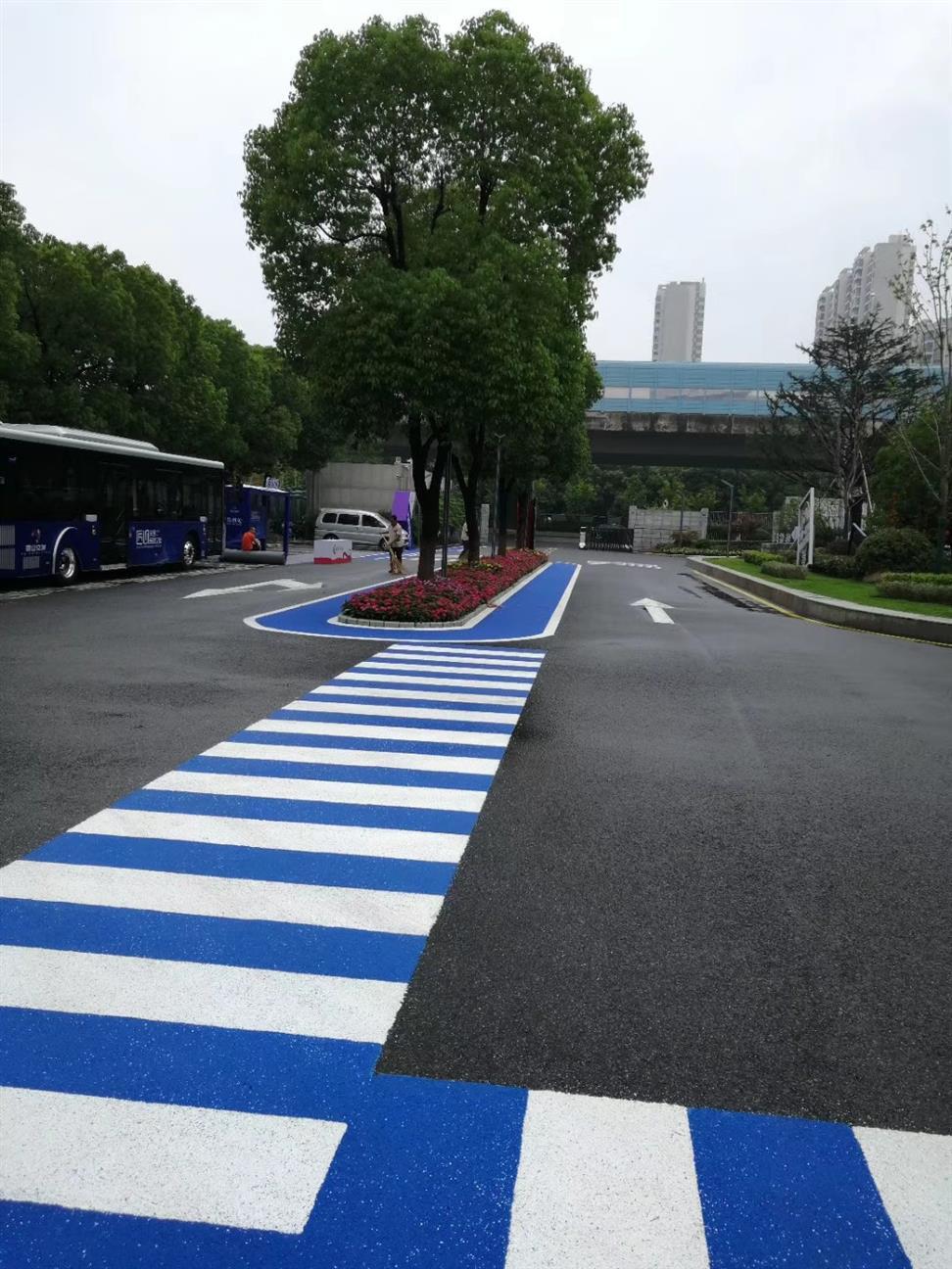 汉中城市绿道彩色路面费用