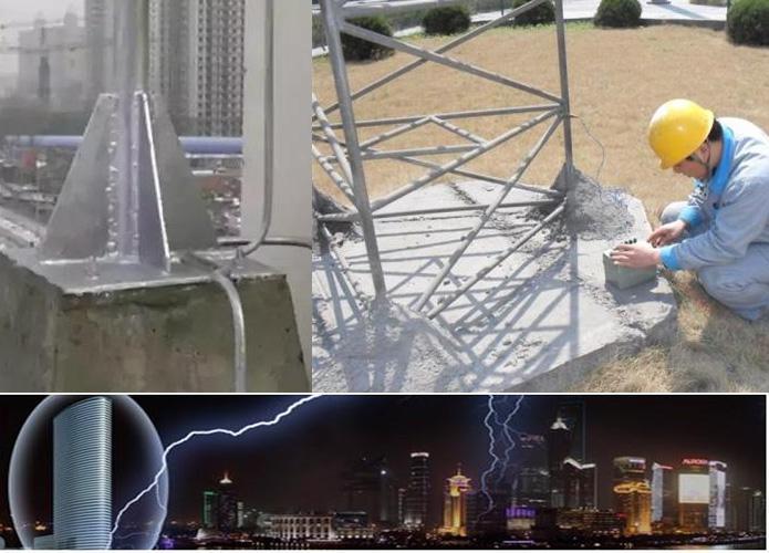 防雷接地装置施工方法及注意事项