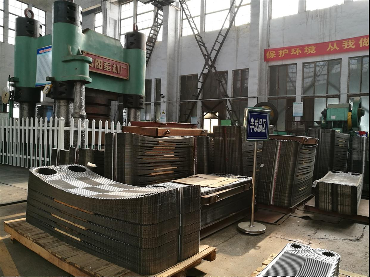 山东螺旋板式换热器公司