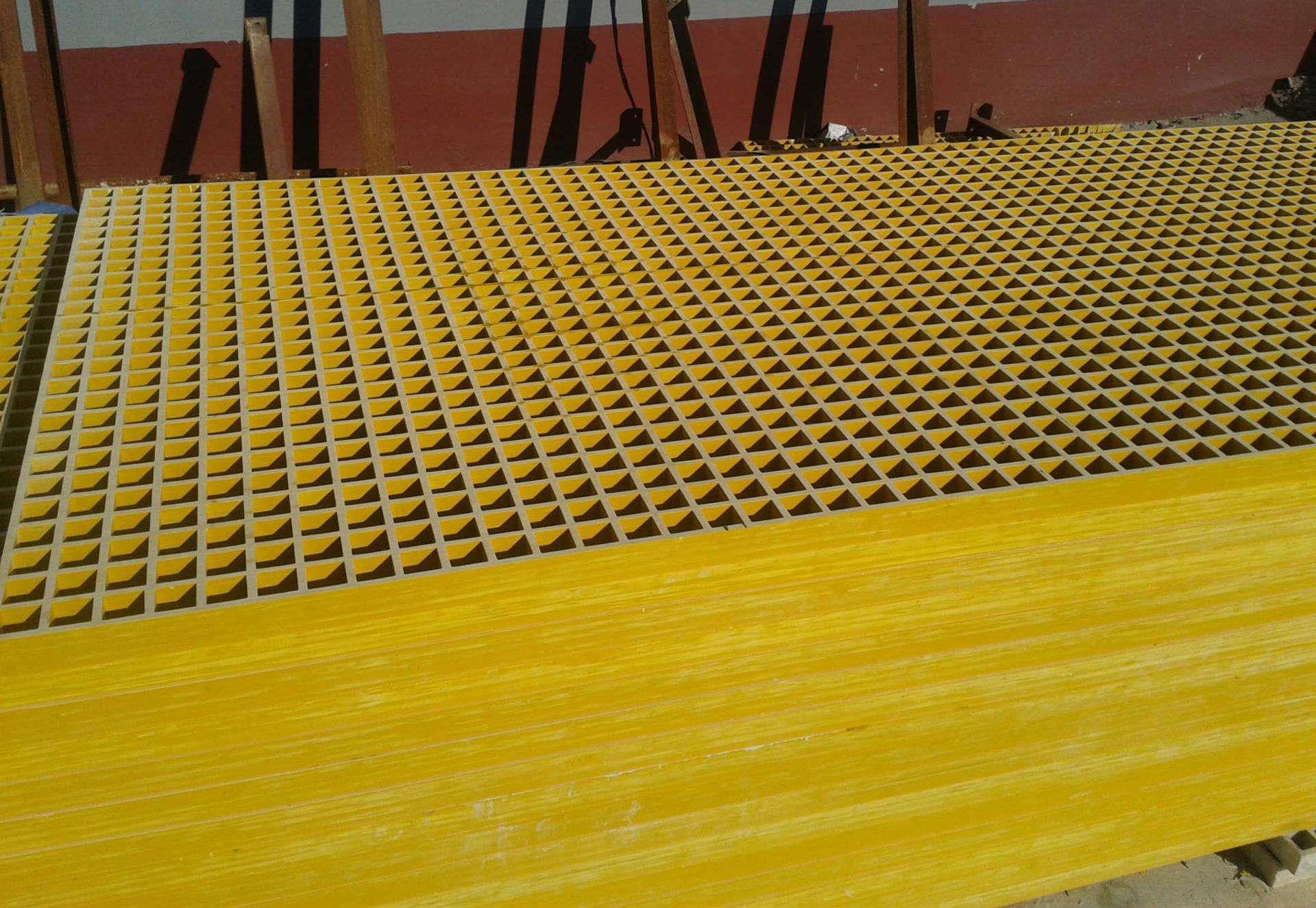 50厚玻璃钢格栅盖板 玻璃钢地板格栅