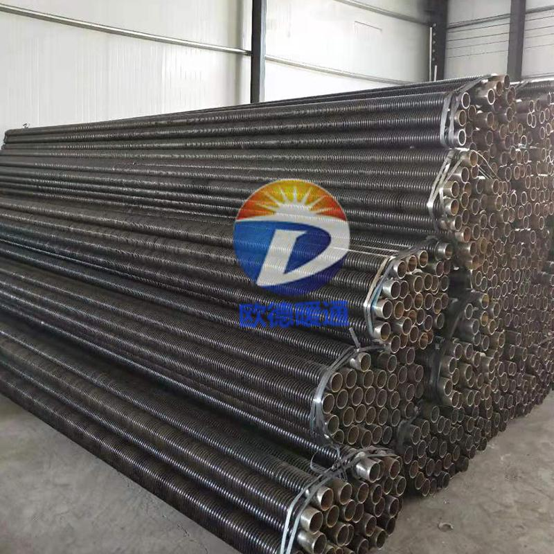 大棚翅片管散热器高频焊螺旋翅片管厂家现货
