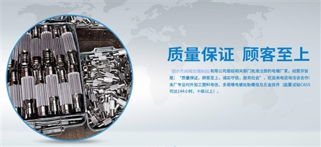 台州市电镀加工-南城金属制品有限公司