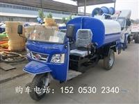 上海市三轮雾炮洒水车价格-直销