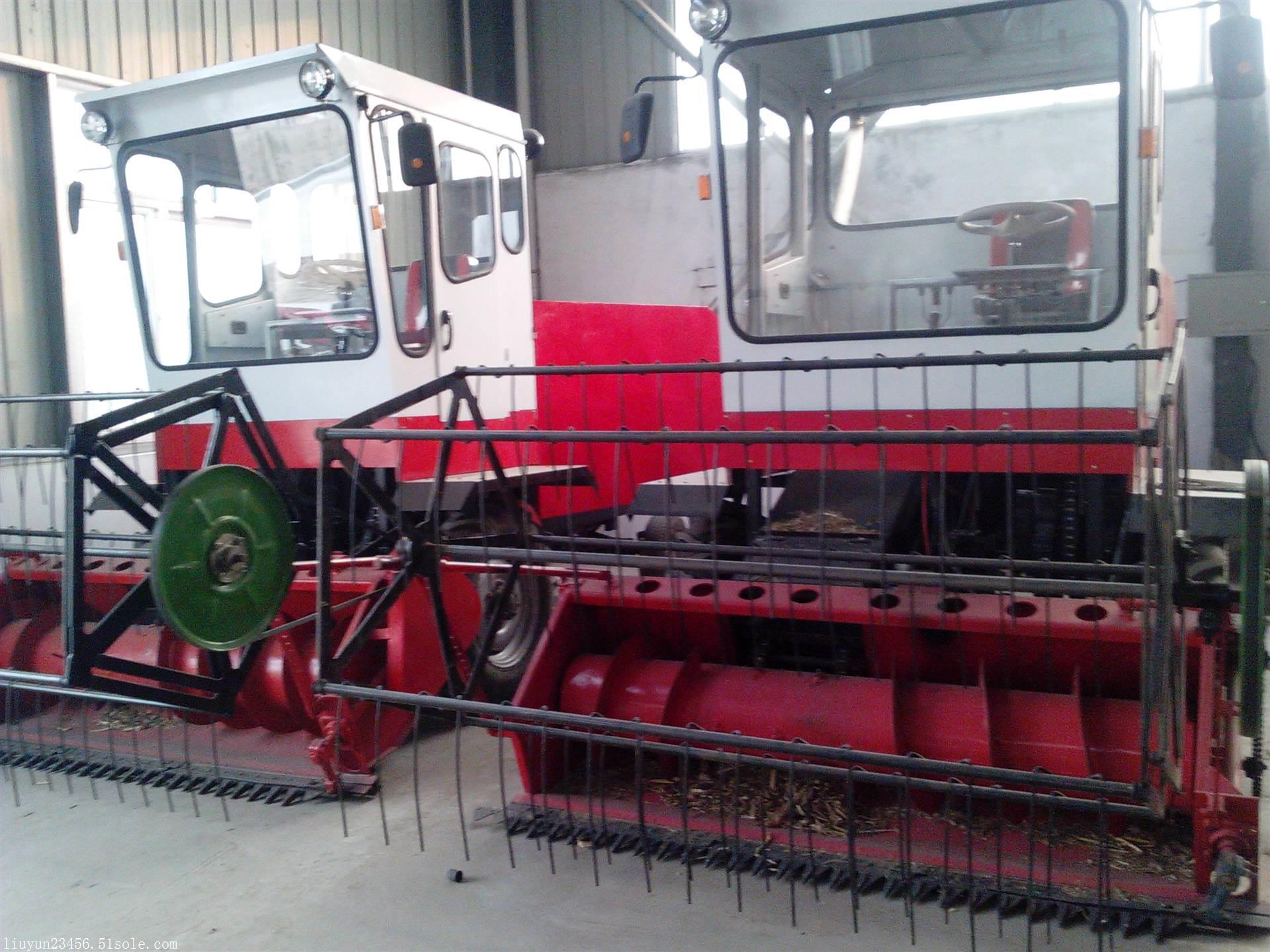 大型机器 自走式秸秆打捆机 青储秸秆收割机
